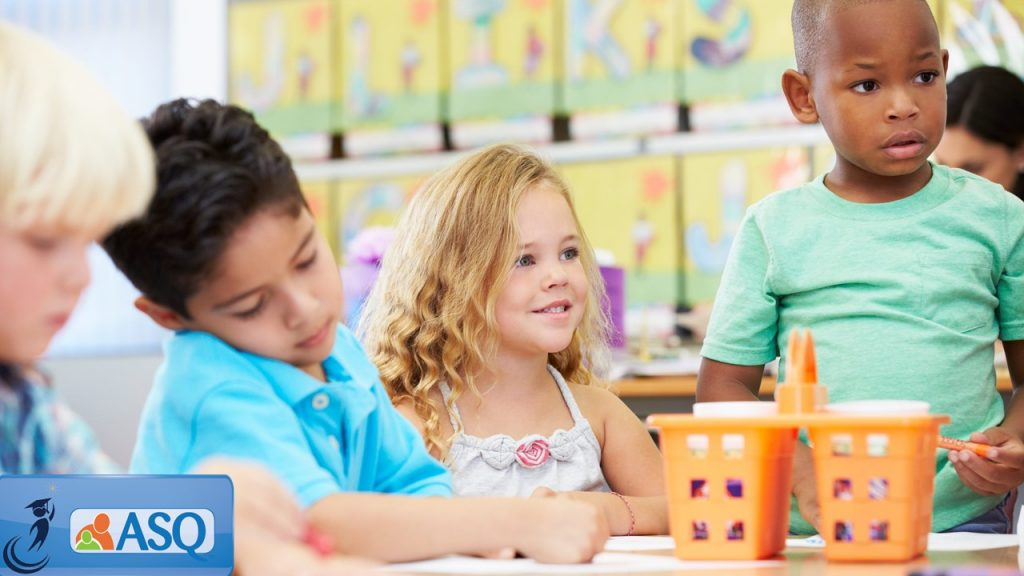 Header image - children in the classroom