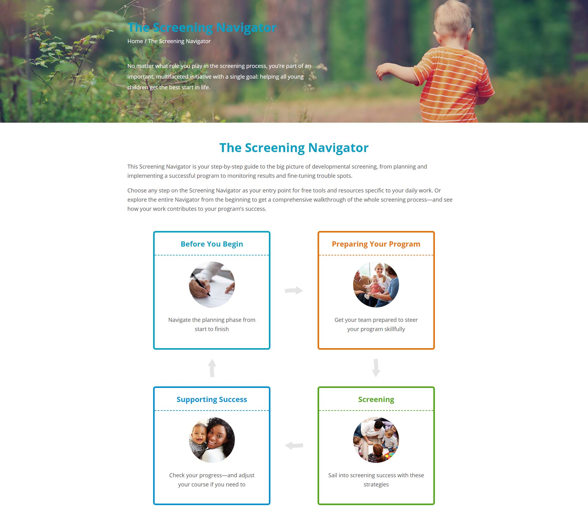 Tour the new ASQ website features - Ages and Stages